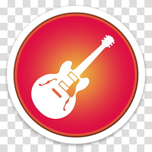ORB OS X Icon, white electric guitar icon PNG