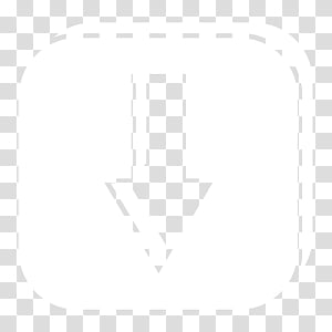 Light Dock Icons, s, white icon PNG clipart